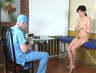 Med submissive hairy pussy