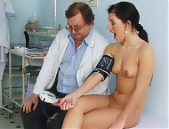 Sandra cunt exam with gyn instrument and other gyno tools