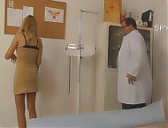 Medical Centre hidden camera gyno exam room